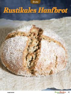 Rezept - Rustikales Hanfbrot - Low Carb Backen mit Tommy Weinz – 01/2020