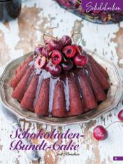 Rezept - Schokoladen-Bundt-Cake mit Kirschen - Simply Backen Sonderheft Sommertorten – 01/2020