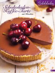 Rezept - Schokoladen-Kaffee-Tarte mit Kirschen - Simply Backen Sonderheft Sommertorten – 01/2020