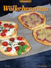 Rezept - Wölkchenpizza - Low Carb Backen mit Tommy Weinz – 01/2020