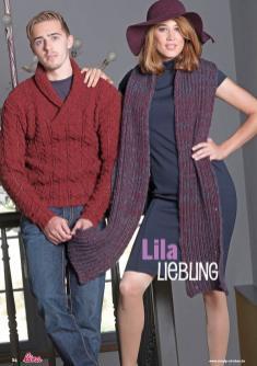 Strickanleitung - Lila Liebling - Lina – Einfach Stricken 04/2020