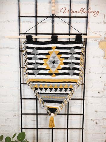Häkelanleitung - Wandbehang - Simply Kreativ Sonderheft Skandinavische Häkel-Designs