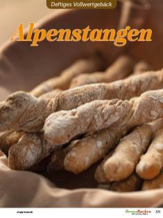 Rezept - Alpenstangen - Vollkorn Backen mit Tommy Weinz – 01/2020
