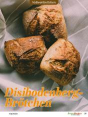 Rezept - Disibodenberg-Brötchen - Vollkorn Backen mit Tommy Weinz – 01/2020