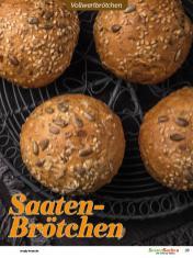 Rezept - Saaten-Brötchen - Vollkorn Backen mit Tommy Weinz – 01/2020