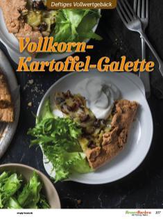 Rezept - Vollkorn-Kartoffel-Galette - Vollkorn Backen mit Tommy Weinz – 01/2020