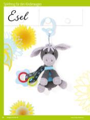 Häkelanleitung - Esel - Sonderheft Häkeln Amigurumi Vol. 26 – Babygurumi 03/2020
