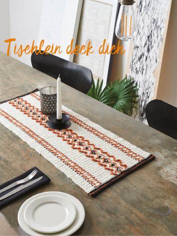 Häkelanleitung - Tischlein deck dich - Best of Simply Häkeln Sonderheft – Home-Deko 01/2020