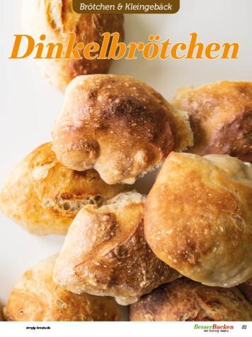 Rezept - Dinkelbrötchen - Easy Backen mit Sauerteig mit Tommy Weinz – 01/2020