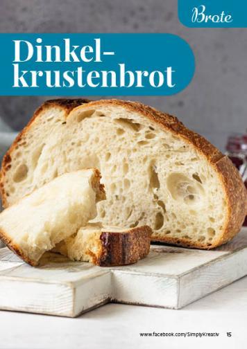 Rezept - Dinkelkrustenbrot - Simply Backen kompakt Brote 04/2020