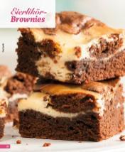 Rezept - Eierlikör-Brownies - Simply Backen Blechkuchen – 03/2020