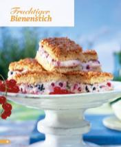 Rezept - Fruchtiger Bienenstich - Simply Backen Blechkuchen – 03/2020