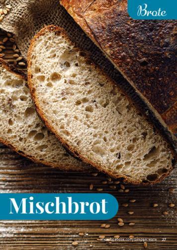 Rezept - Mischbrot - Simply Backen kompakt Brote 04/2020