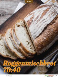 Rezept - Roggenmischbrot 70:40 - Easy Backen mit Sauerteig mit Tommy Weinz – 01/2020