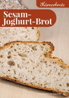 Rezept - Sesam-Joghurt-Brot - Simply Backen kompakt Brote 04/2020