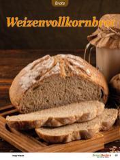 Rezept - Weizenvollkornbrot - Easy Backen mit Sauerteig mit Tommy Weinz – 01/2020