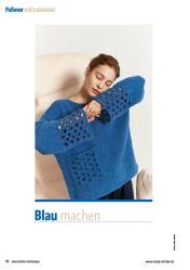 Strickanleitung - Blau machen - Fantastische Herbst-Strickideen 05/2020