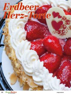 Rezept - Erdbeer-Herz-Torte - Backideen für Weihnachten, Herbst & Winter mit Tommy Weinz – 01/2020