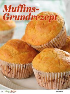 Rezept - Muffins-Grundrezept - Backideen für Weihnachten, Herbst & Winter mit Tommy Weinz – 01/2020
