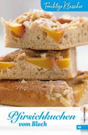 Rezept - Pfirsichkuchen vom Blech - Simply Backen Sonderheft Obstkuchen – 01/2020