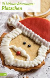 Rezept - Weihnachtsmann-Plätzchen - Simply Backen Sonderheft Weihnachts-Plätzchen – 01/2020