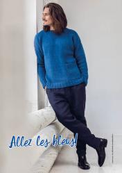 Strickanleitung - Allez les bleus! - Simply Stricken 06/2020