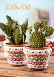 Strickanleitung - Kaktus-Kult - Simply Stricken kompakt Sonderheft Home-Deko 01/2020