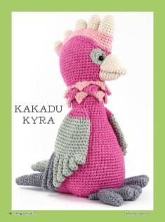 Haekelanleitung-Kakadu-Kyra
