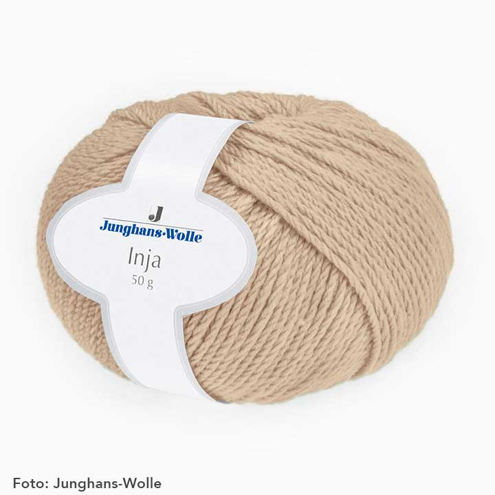 Beige, Junghans-Wolle Inja