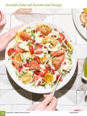 Rezept - Avocado-Salat mit Karotte und Orange - Simply Kochen Sonderheft: One-Pot-Gerichte