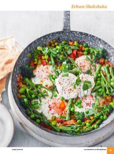 Rezept - Erbsen-Shakshuka - Simply Kochen Sonderheft: One-Pot-Gerichte