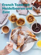 Rezept - French Toast mit Heidelbeeren und Zimt - Vegan Food & Living – 05/2020
