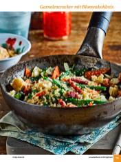 Rezept - Garnelencracker mit Blumenkohlreis - Simply Kochen Sonderheft: One-Pot-Gerichte