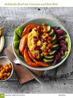 Rezept - Hokkaido-Bowl mit Couscous und Rote Bete - Simply Kochen Sonderheft: One-Pot-Gerichte