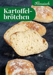 Rezept - Kartoffelbrötchen - Simply Backen kompakt Brötchen – 01/2020