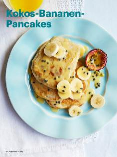 Rezept - Kokos-Bananen-Pancakes - Vegan Food & Living – 05/2020