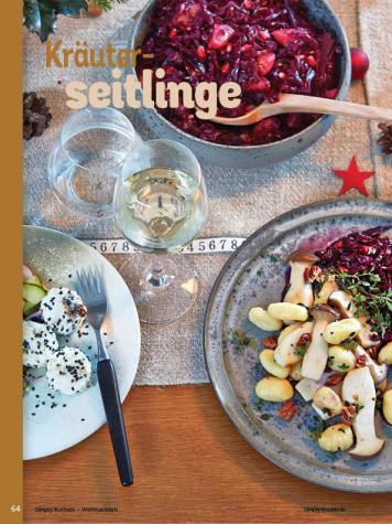 Rezept - Kräuterseitlinge - Simply Kochen Weihnachten 01/2020