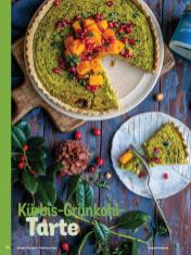 Rezept - Kürbis-Grünkohl-Tarte - Simply Kochen Weihnachten 01/2020