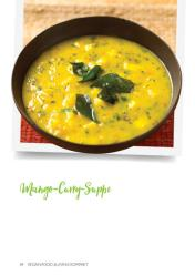 Rezept - Mango-Curry-Suppe - Vegan Food & Living – 01/2021