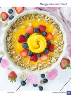 Rezept - Mango-Smoothie-Bowl - Simply Kochen Sonderheft: One-Pot-Gerichte