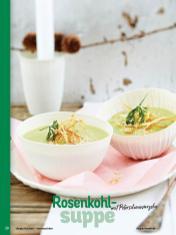 Rezept - Rosenkohlsuppe mit Petersilienwurzeln - Simply Kochen Weihnachten 01/2020
