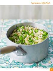 Rezept - Saubohnen-Dill-Pilaf - Simply Kochen Sonderheft: One-Pot-Gerichte