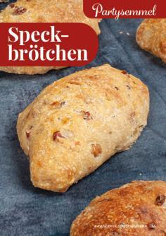 Rezept - Speckbrötchen - Simply Backen kompakt Brötchen – 01/2020