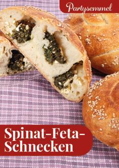 Rezept - Spinat-Feta-Schnecken - Simply Backen kompakt Brötchen – 01/2020