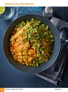 Rezept - Tomaten-Zucchini-Risotto - Simply Kochen Sonderheft: One-Pot-Gerichte