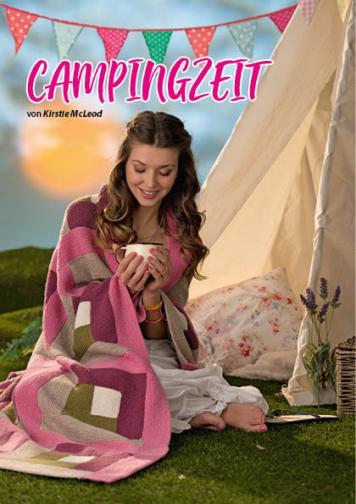 Strickanleitung - Campingzeit - Simply Stricken kompakt Decken 07/2020