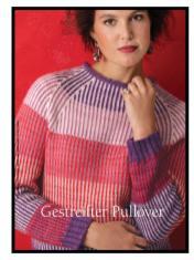 Strickanleitung - Gestreifter Pullover - Best of Designer Knitting 01/2021