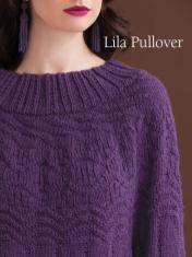Strickanleitung - Lila Pullover - Best of Designer Knitting 01/2021