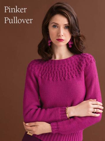 Strickanleitung - Pinker Pullover - Best of Designer Knitting 01/2021