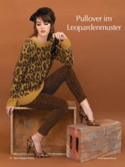 Strickanleitung - Pullover im Leopardenmuster - Best of Designer Knitting 01/2021